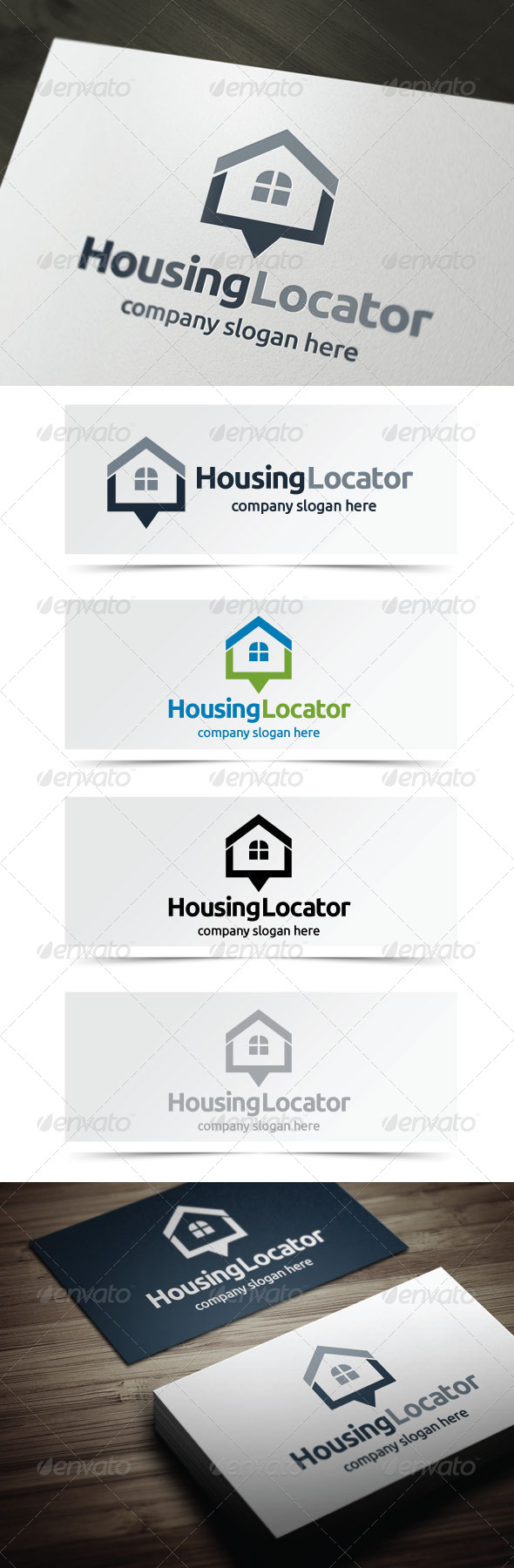 GraphicRiver Housing Locator 5355937