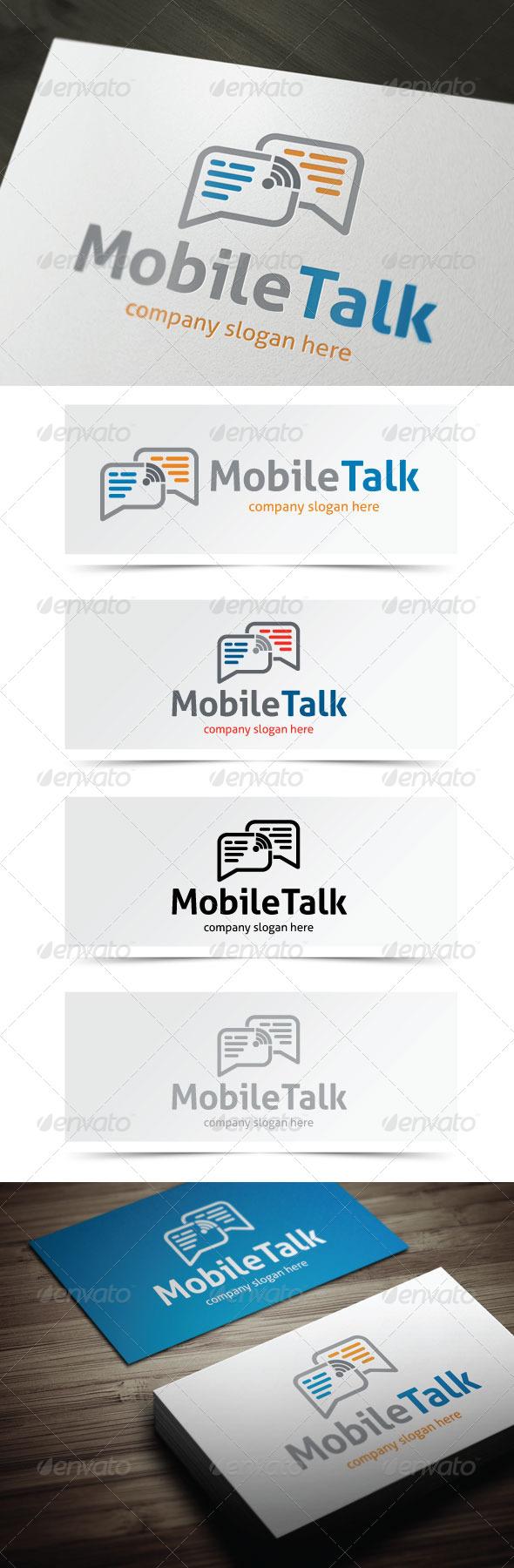 GraphicRiver Mobile Talk 5355946