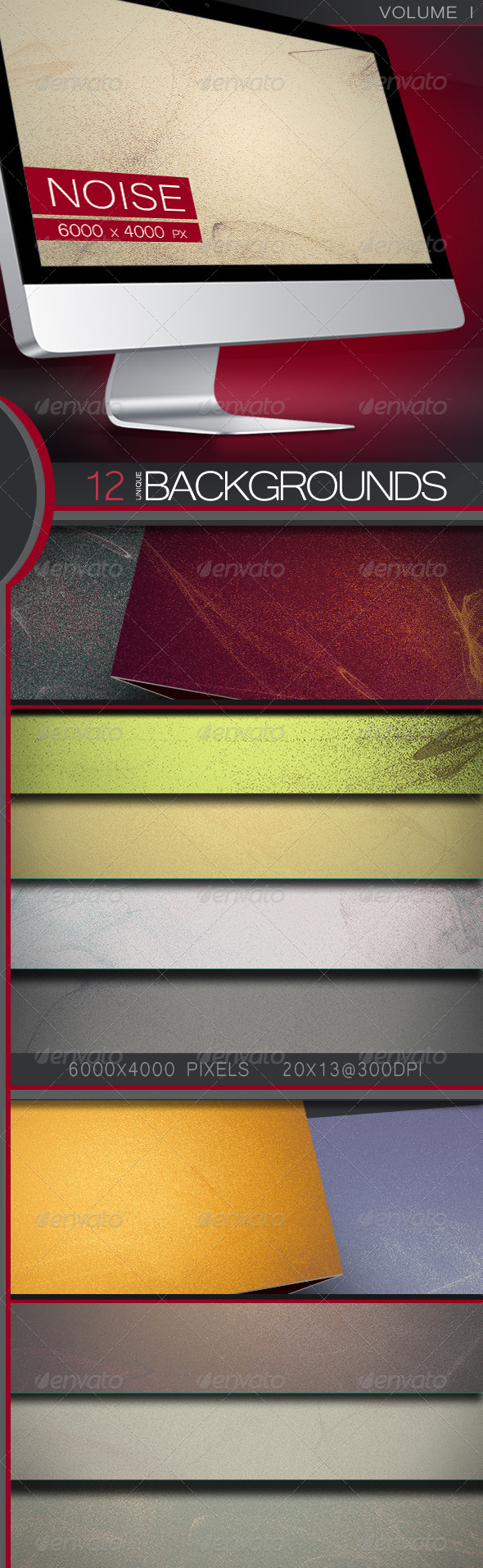 GraphicRiver StarNoise Backgrounds Volume 1 5304195