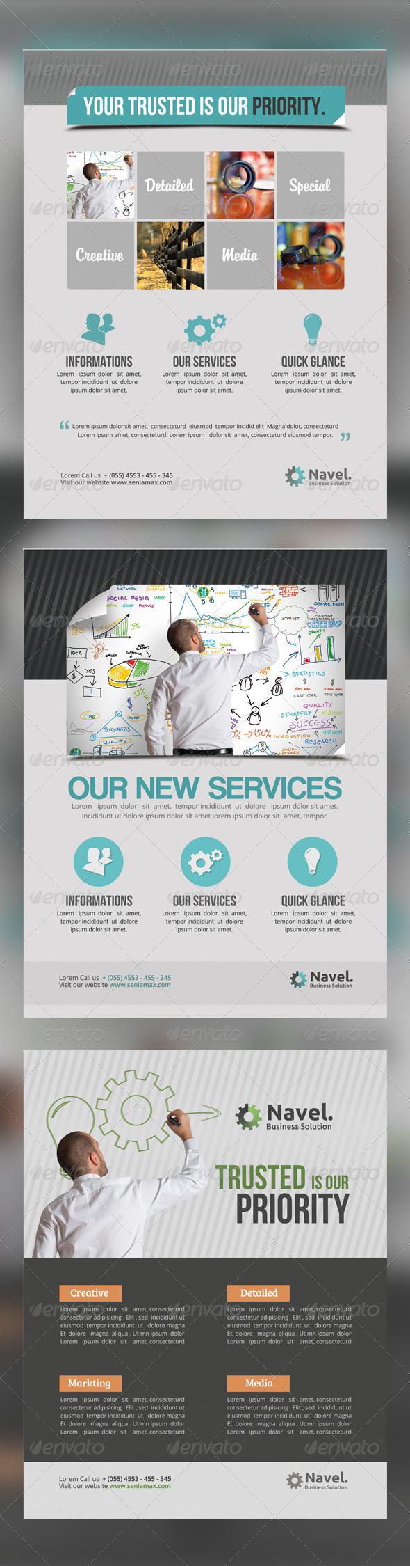 GraphicRiver Multipurpose Flyer Vol.5 5356245