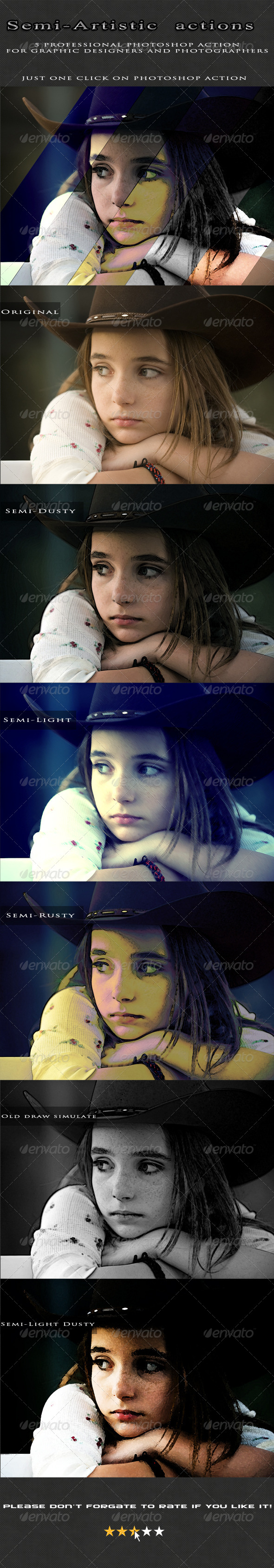 GraphicRiver Semi-Artistic actions 5338512