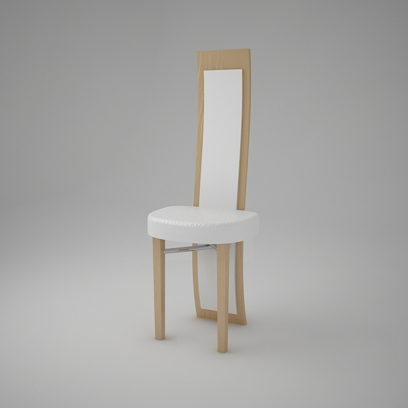 Modern Chair luxury style VRay Max 2011 - 3DOcean Item for Sale