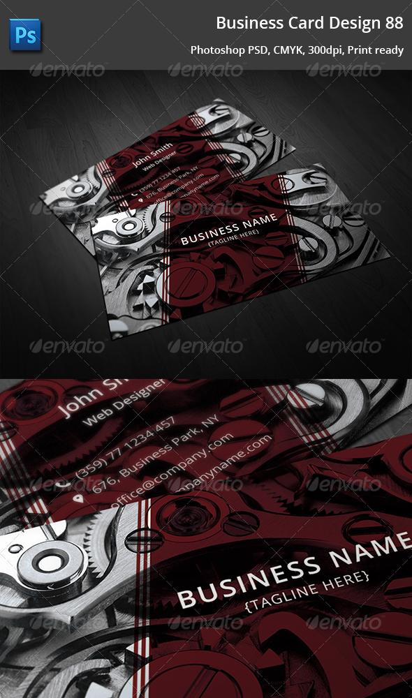 GraphicRiver Business Card Design 9 5356857