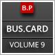 Business Card Design 9 - GraphicRiver Item for Sale