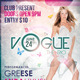 Vogue The Rio Flyer Template - GraphicRiver Item for Sale