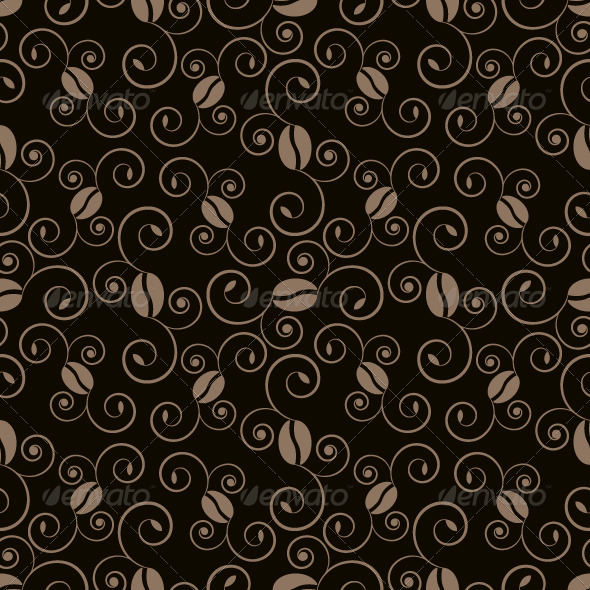 GraphicRiver Coffee Pattern 5357393