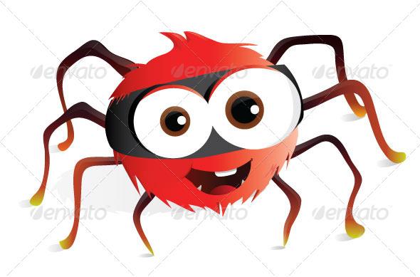 GraphicRiver Spider 5357843