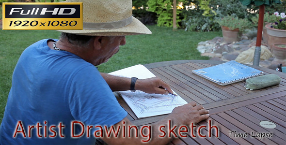 Artist Drawing Sketch