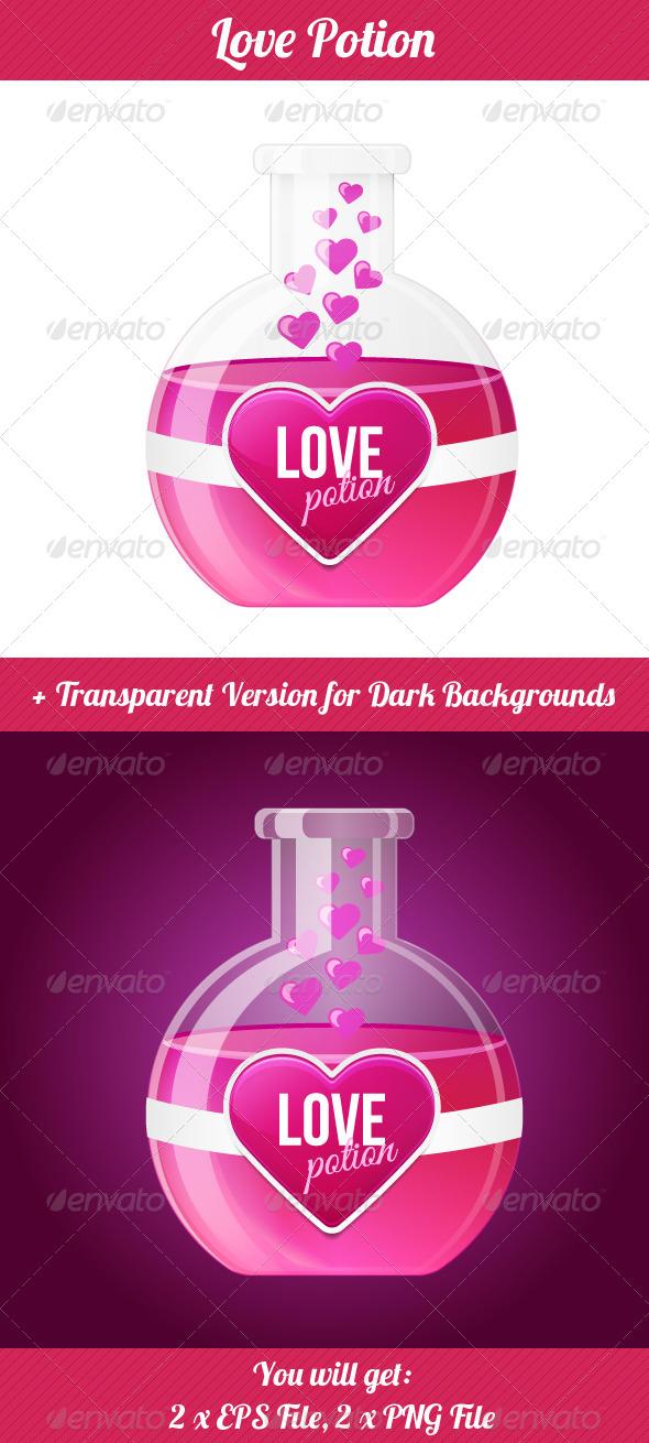 GraphicRiver Love Potion 5358419