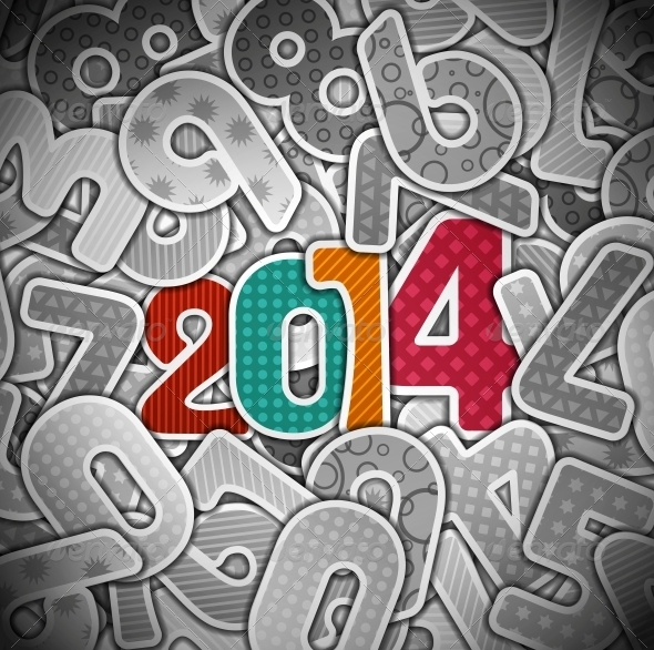 GraphicRiver New 2014 Year 5358470