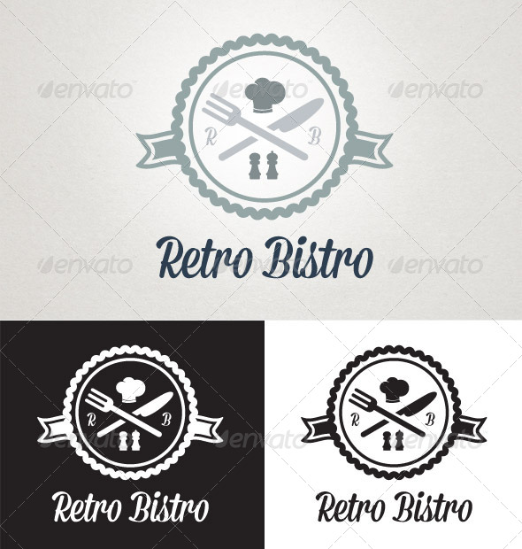 GraphicRiver Retro Bistro 5354362