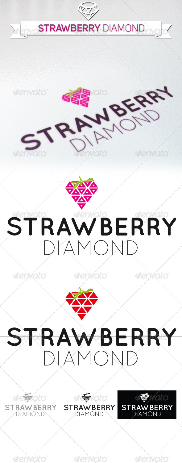 GraphicRiver Stawberry Diamond 5358905