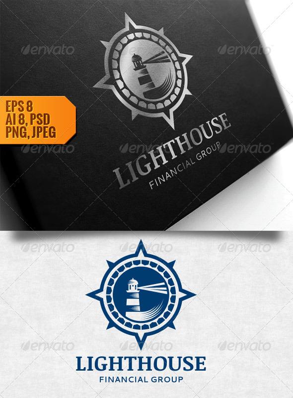 GraphicRiver Logo Lighthouse 5359015