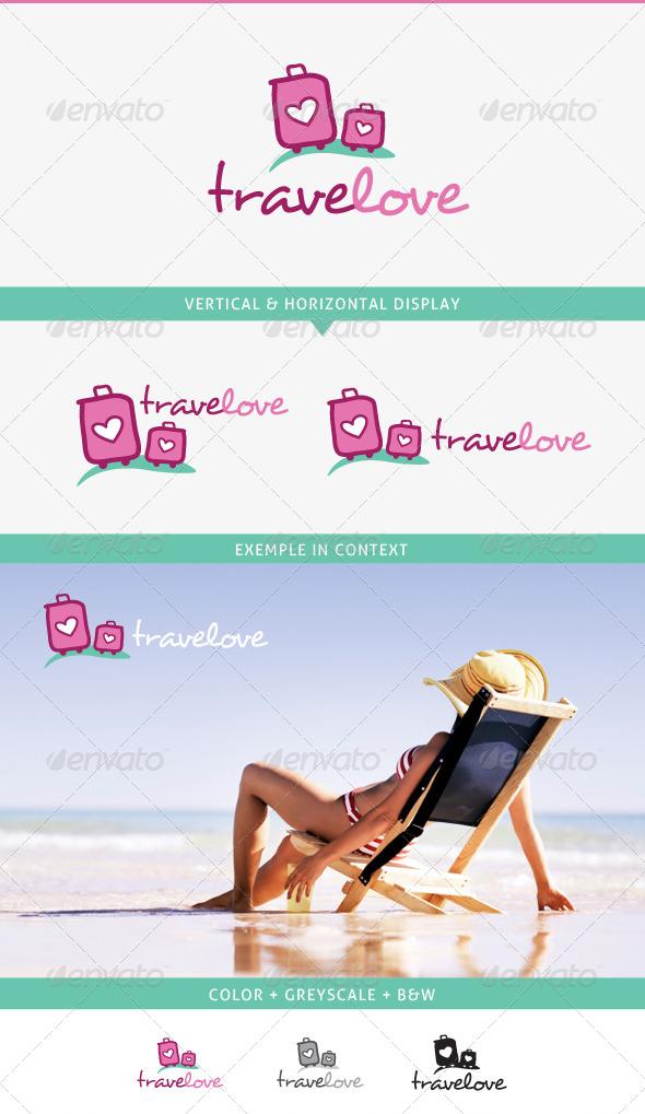 GraphicRiver Travel Love Logo 5359064