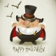 Count Dracula.  Halloween Design Background. - GraphicRiver Item for Sale
