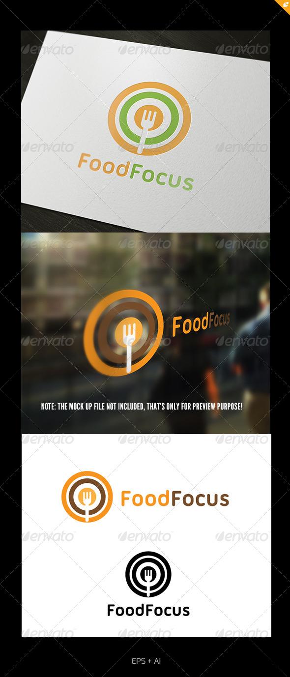 GraphicRiver Food Focus Logo 5359562
