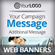 Business Marketing Web Banners Set - GraphicRiver Item for Sale