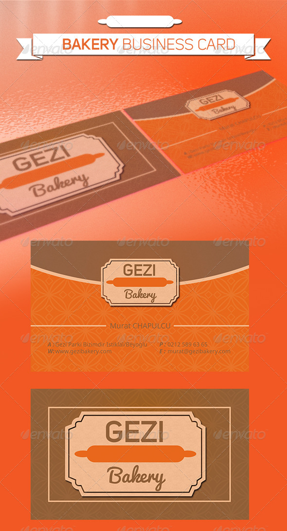 GraphicRiver Bakery Business Card 5359597