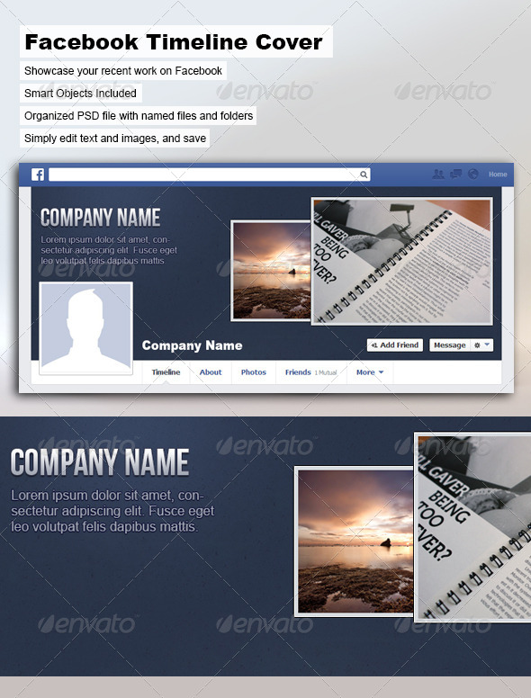 GraphicRiver Facebook Timeline Cover 5359601