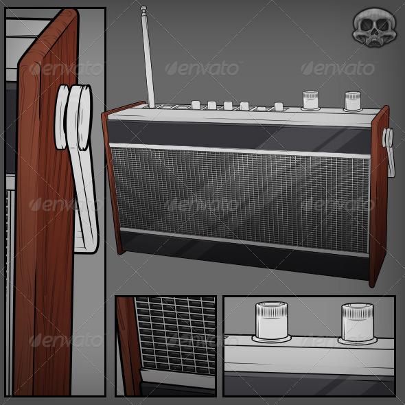 GraphicRiver Retro Radio 5359711