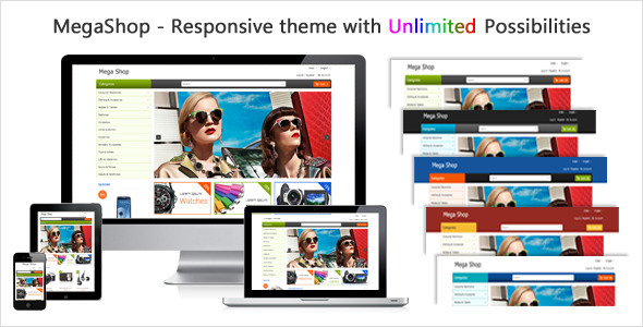 MegaShop - Responsive Prestashop Theme - PrestaShop eCommerce