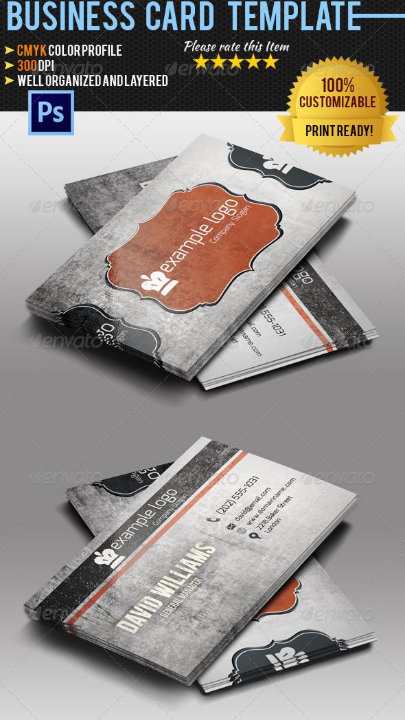 GraphicRiver Retro Business Card Vol 3 5360239