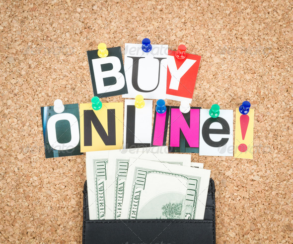 Buy Online - Stock Photo - Images