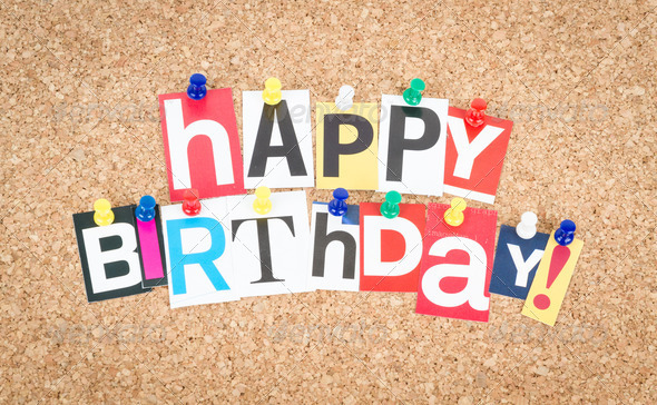 Happy Birthday - Stock Photo - Images