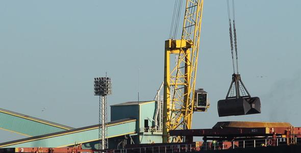 Harbor Crane 02