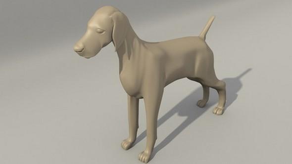 3DOcean Dog 5360373