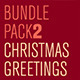 Christmas Greetings Bundle Pack - GraphicRiver Item for Sale