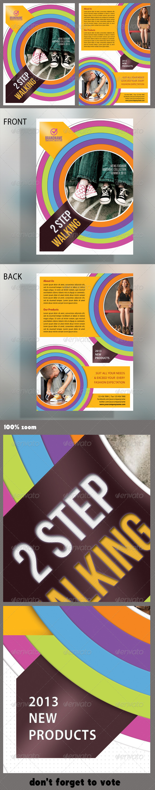 GraphicRiver Product Multipurpose Flyer 03 5295155