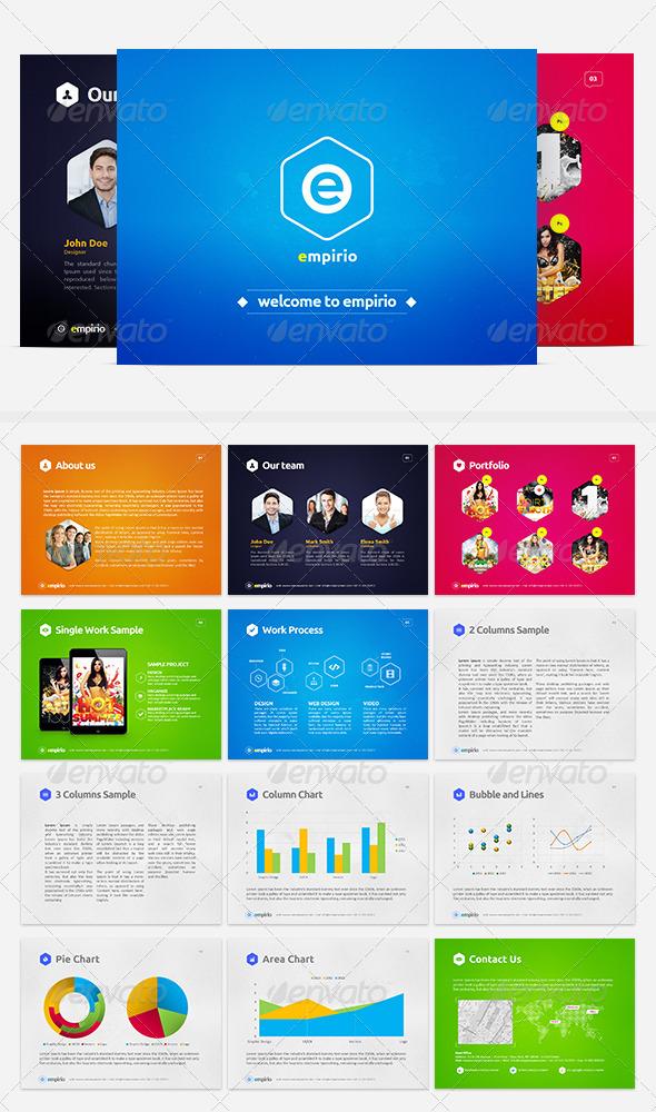 GraphicRiver eMpirio PowerPoint Presentation 5360710