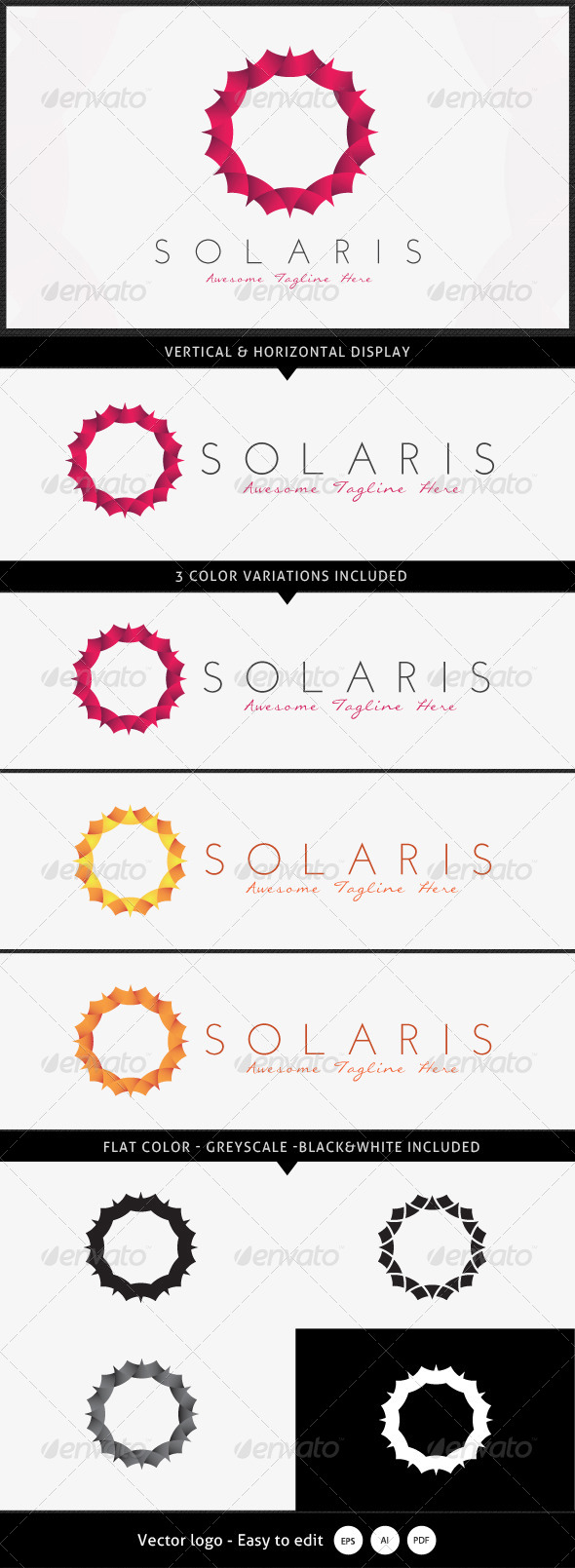 GraphicRiver Solaris Logo 5360832