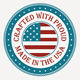 9 Made in USA Badges, Stamps, Seals - GraphicRiver Item for Sale