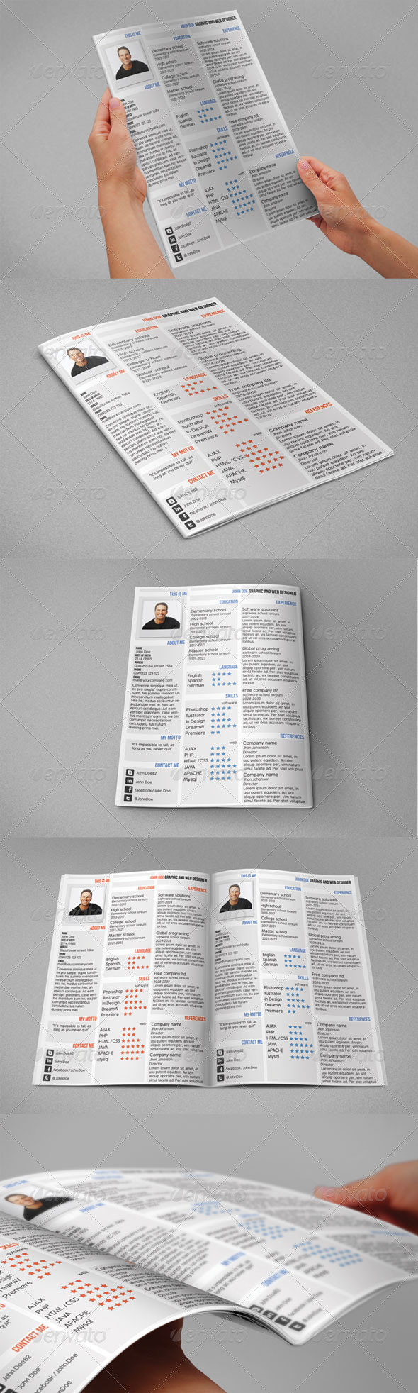 GraphicRiver The Best CV 5361165