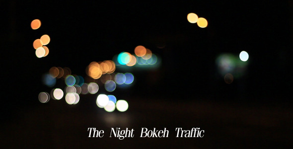 The Night Bokeh Traffic 5
