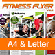 Fitness Flyer Vol.11 - GraphicRiver Item for Sale