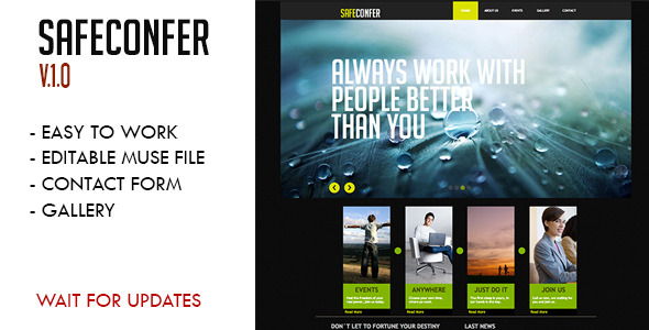 Safe Confer Muse Template