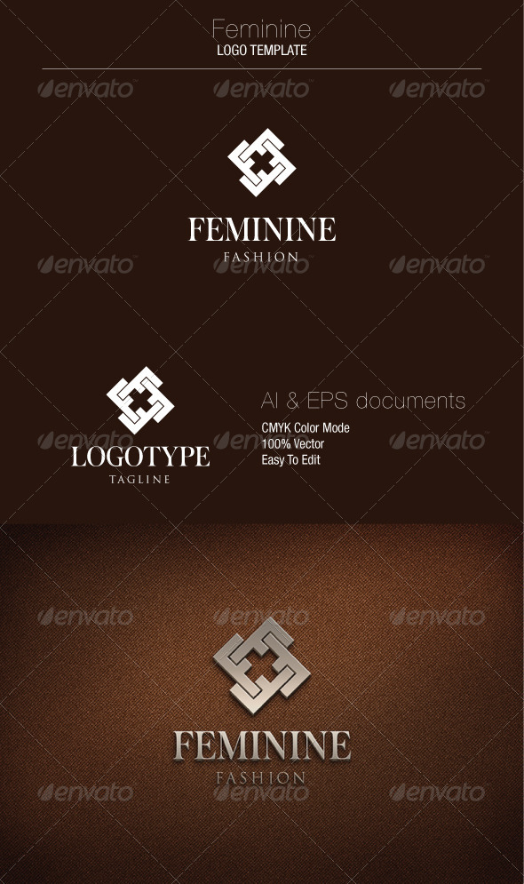 GraphicRiver Feminine Logo Template 5361490