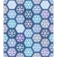 Seamless Geometric Pattern with Snowflakes - GraphicRiver Item for Sale