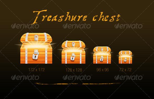 GraphicRiver Treasure chest 5362051