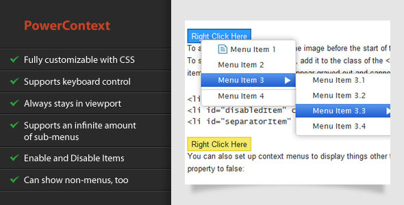 CodeCanyon PowerContext 551656