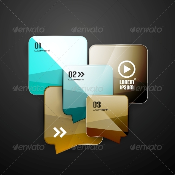 GraphicRiver Speech Bubbles Infographics Modern Template 5362324