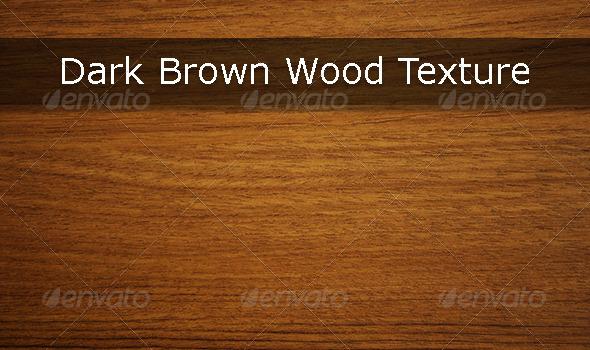 GraphicRiver Dark Brown Wood Texture 5362538