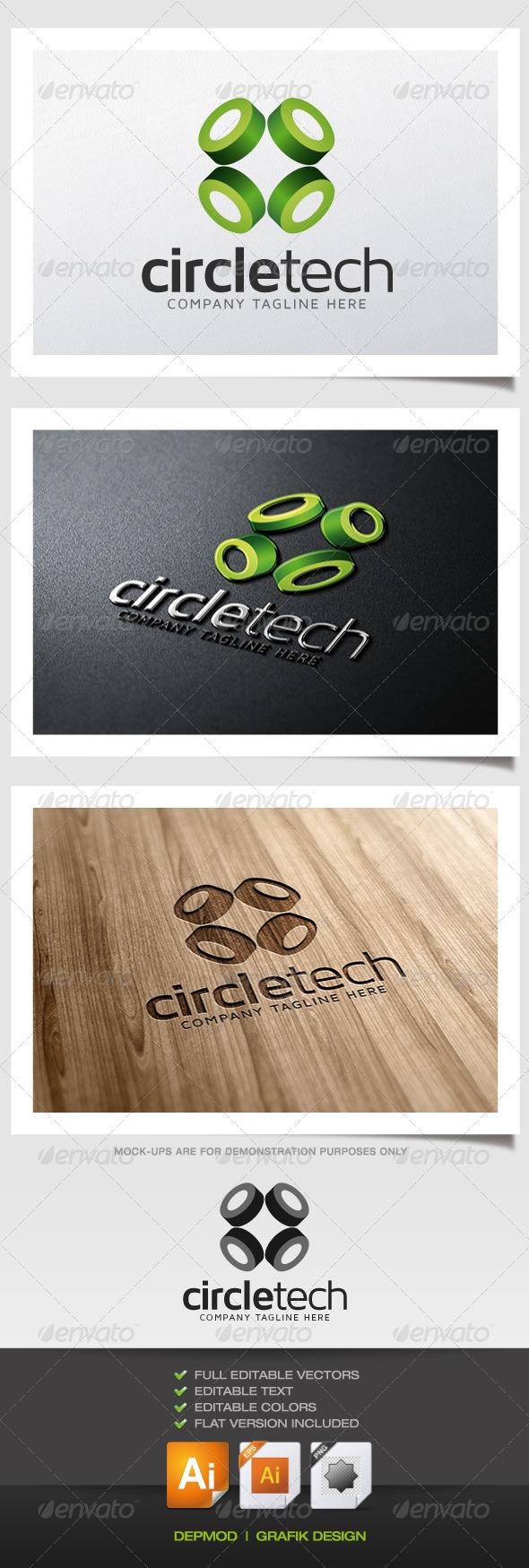 GraphicRiver Circle Tech Logo 5362849