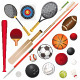 Sports Equipment - GraphicRiver Item for Sale
