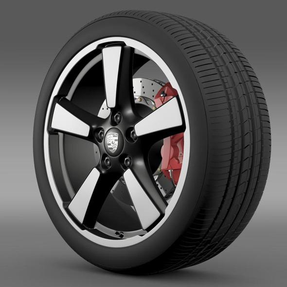 3DOcean Porsche 911 50YearEditions wheel 5362973