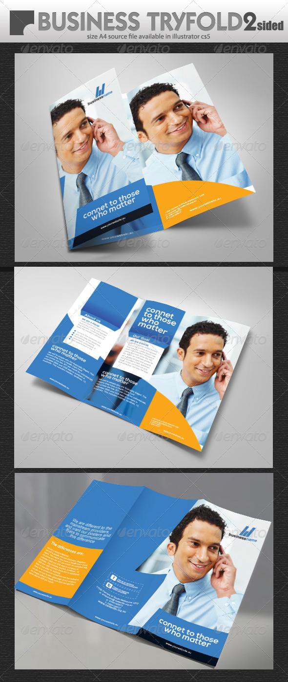 GraphicRiver Mobile Business Tri-fold 5362978