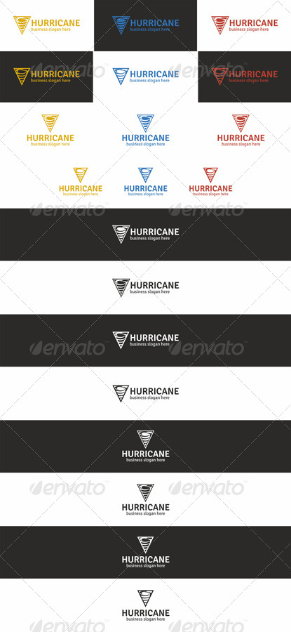 Hurricane Logo Template
